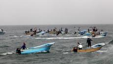 بحر غزة.