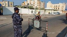 حواجز على الطرقات بعد تفجيرات غزة.jpg