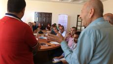 موظفو بلدية غزة يشاركون في دورة تدريبية حول المساءلة المجتمعية (10).JPG