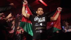 المصارع الفلسطيني عبد الكريم سلوادي