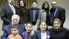 عباس وأسرته في العيد