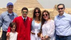 بالصور.. هكذا احتفلت أسرة مبارك بتخرج حفيده.jpg