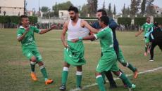 فرحة لاعبي المجمع الإسلامي.JPG