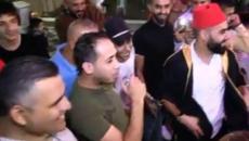 شاب يقلد الرئيس عباس وصدام واللحام.jpg