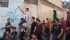 زفة طالب حصل على 33% بغزة.jpg