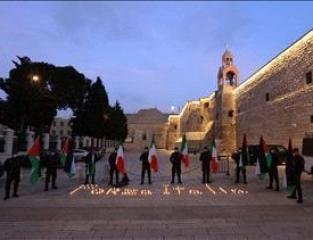 الامن الوطني يتضامن مع مرضى كورونا في ايطاليا.JPG