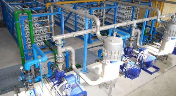مشروع تحلية مياه بغزة