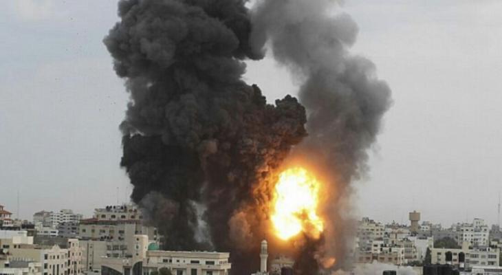 قصف اسرائيلي غزة.jpg