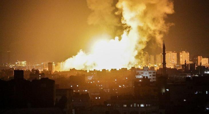 قصف جنوب غزة.jpeg