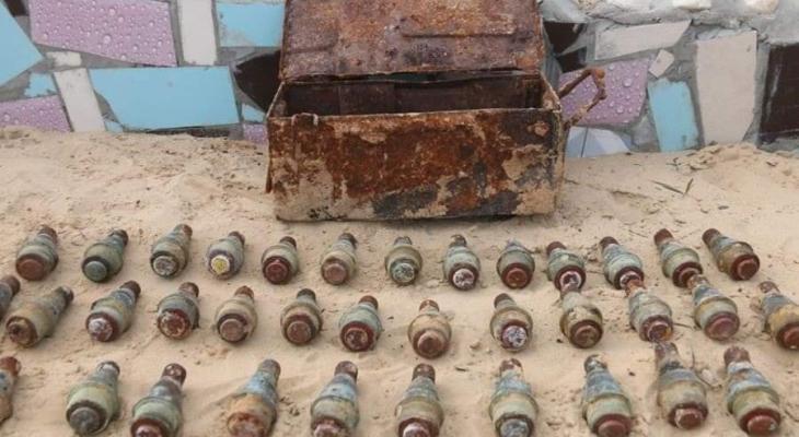 مباحث غزة تعثر على صاعق صواريخ قديمة.jpg