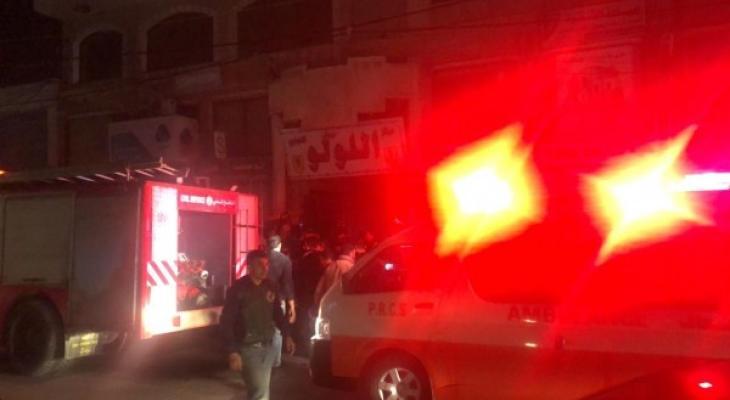 حريق بمجمع اللولو.jpg