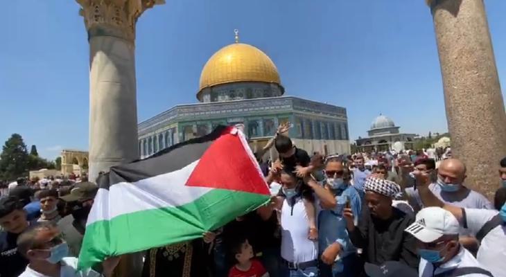 مظاهؤات رافضة للتطبيع في القدس.jpg