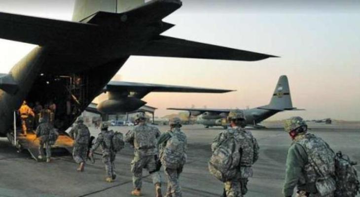 قوات امريكية تغادر قاعدة في دول عربية