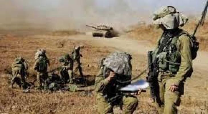 تدريبات اسرائيلية في الاغوار.jpg