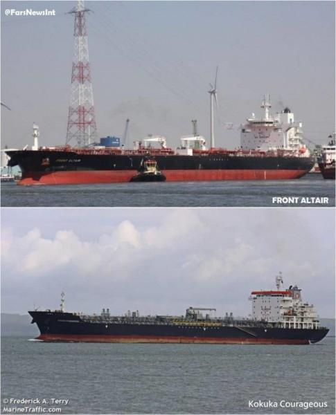 صور الهجوم على ناقلتي النفط في خليج عمان3.jpg