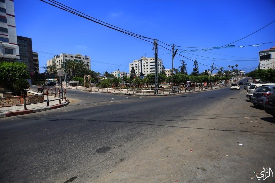 اضراب في غزة.jpg
