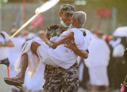 رجل أمن سعودي- حاج.jpg