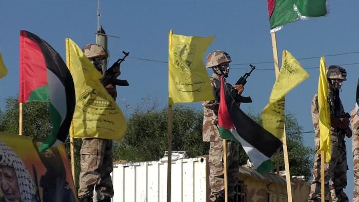 كتائب الاقصى بغزة تخرج مقاتلين5.jpg