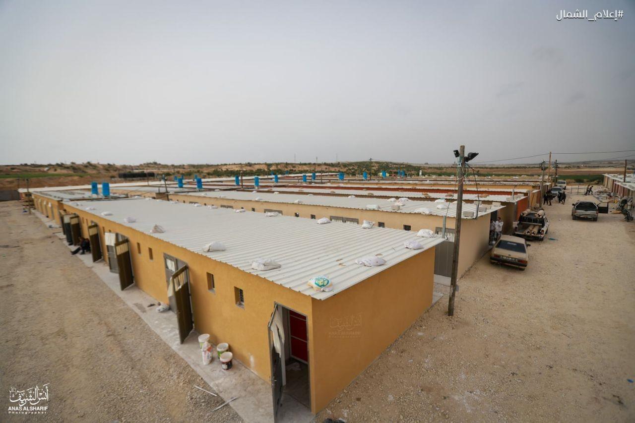 تجهيز غرف حجر صحي شمال غزة8.jpg