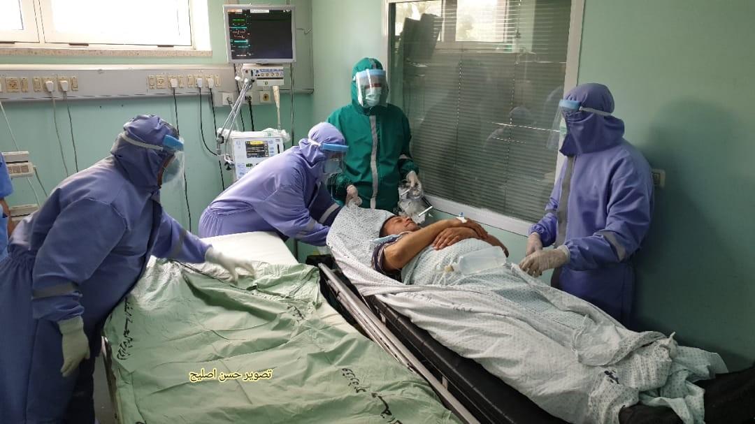 مناورة طبية في الاوروبي تحاكي اصابات بكورونا3.jpg