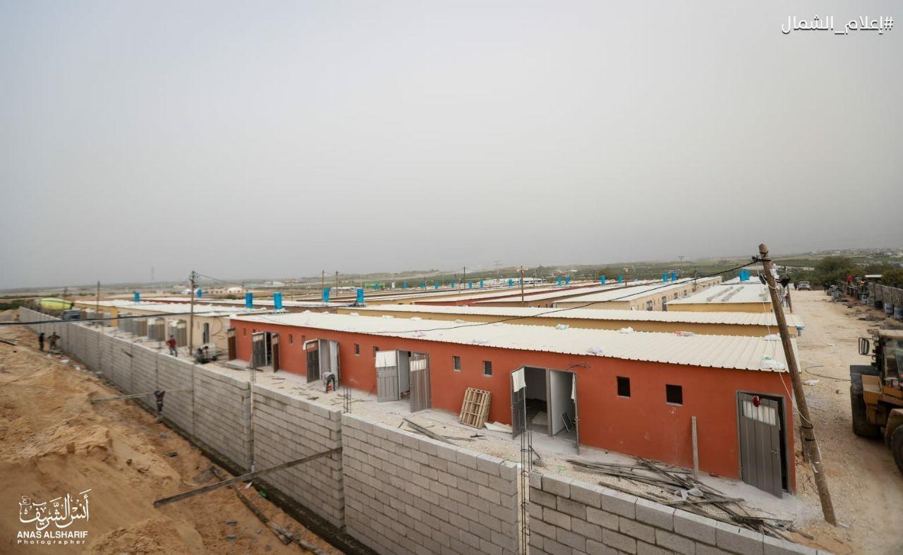 تجهيز غرف حجر صحي شمال غزة1.jpg