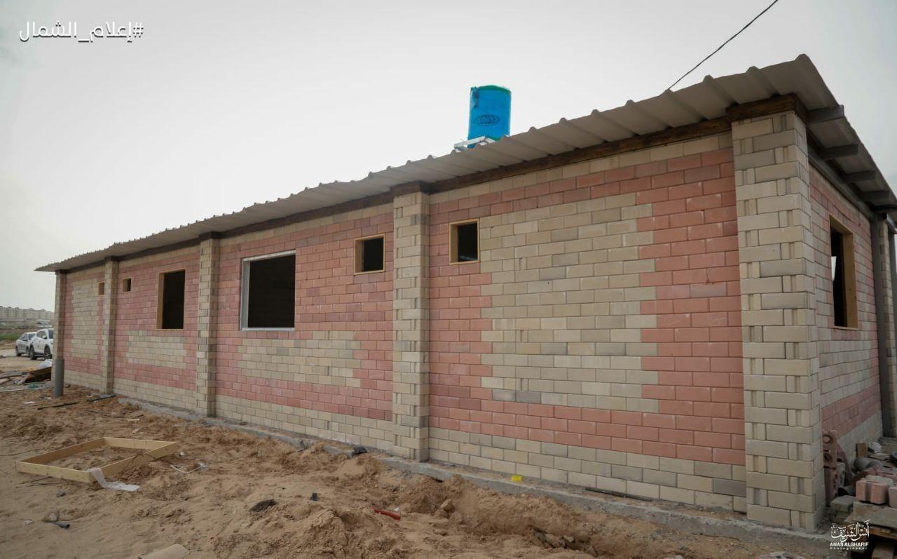 تجهيز غرف حجر صحي شمال غزة6.jpg