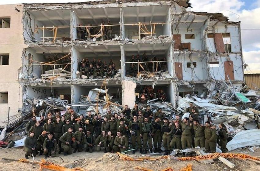 مناورة اسرائيلية تحاكي حربا ضخمة تشبه غزة.jpeg