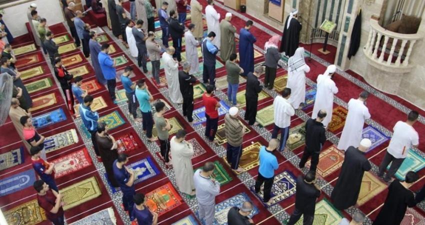 صلاة الفجر بعد فتح مساجد غزة2.jpeg