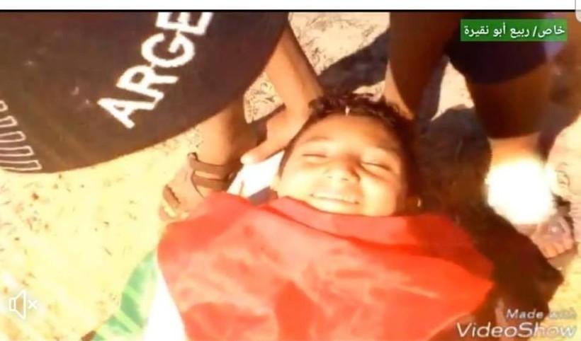 مجدي السطري يمثل استشهاده قبل اسبوعين.jpg
